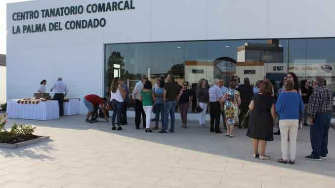 Inauguración Tanatorio de La Palma del Cdo.